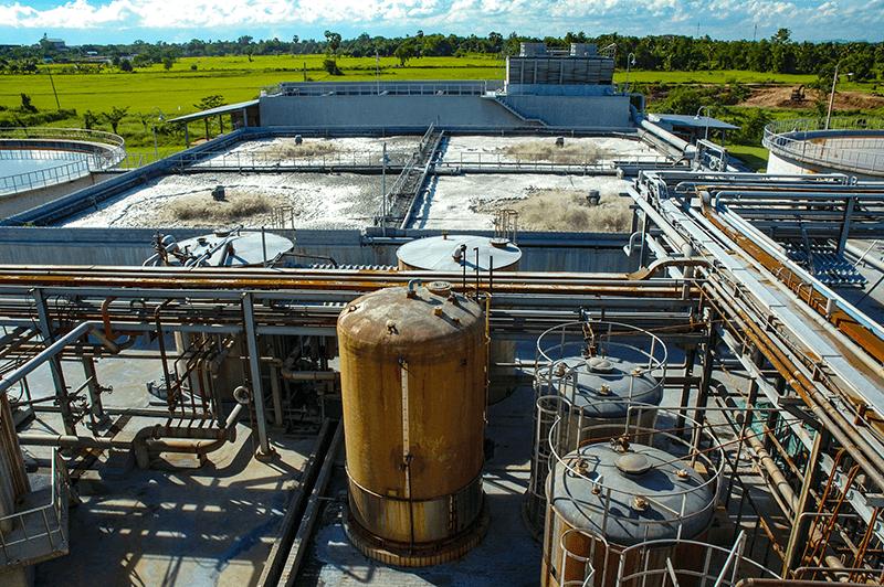 imagen haciendo referencia al proceso de potabilización del agua